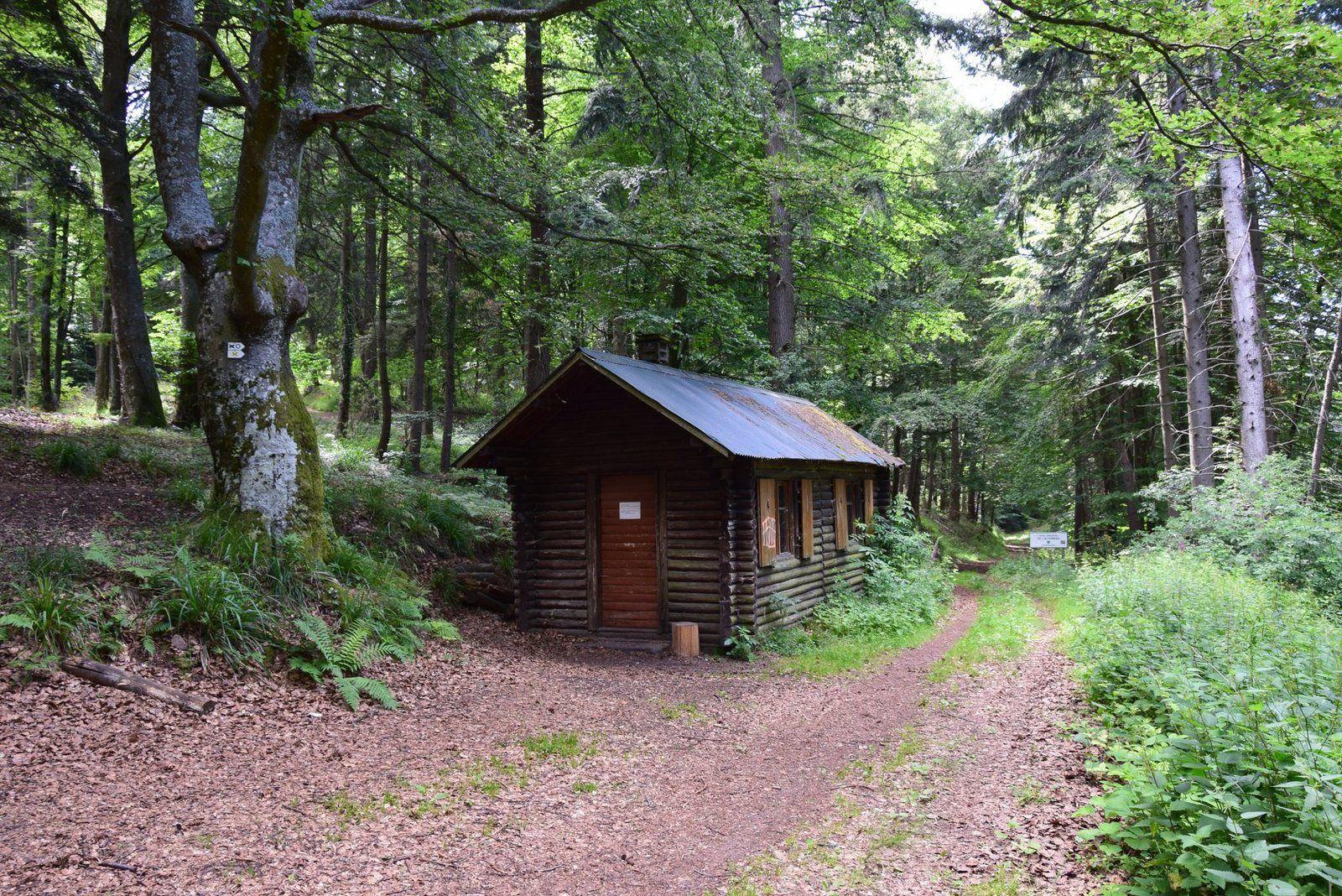 L'abri au col du Schlossberg