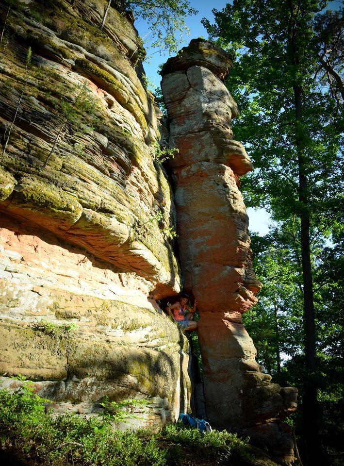 La roche décollée