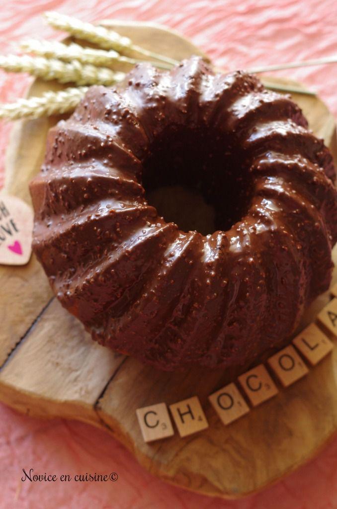Gâteau moelleux vanille et pépites de chocolat