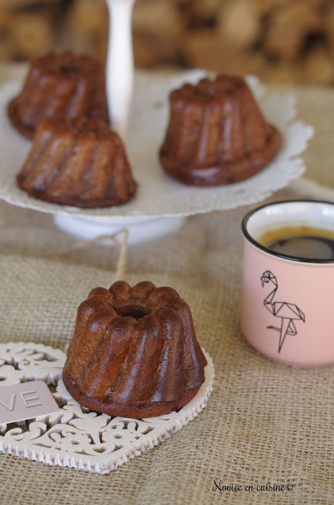Minis puddings au chocolat