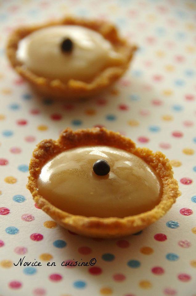 Minis tartelettes caramel beurre salé