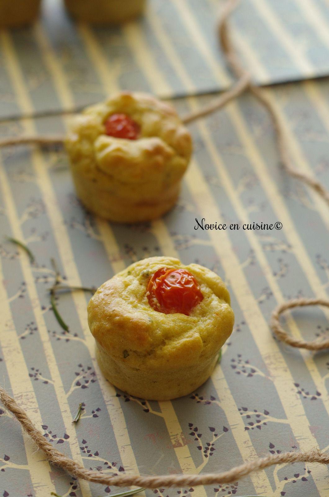 Minis muffins guacamole cœur tomates cerises