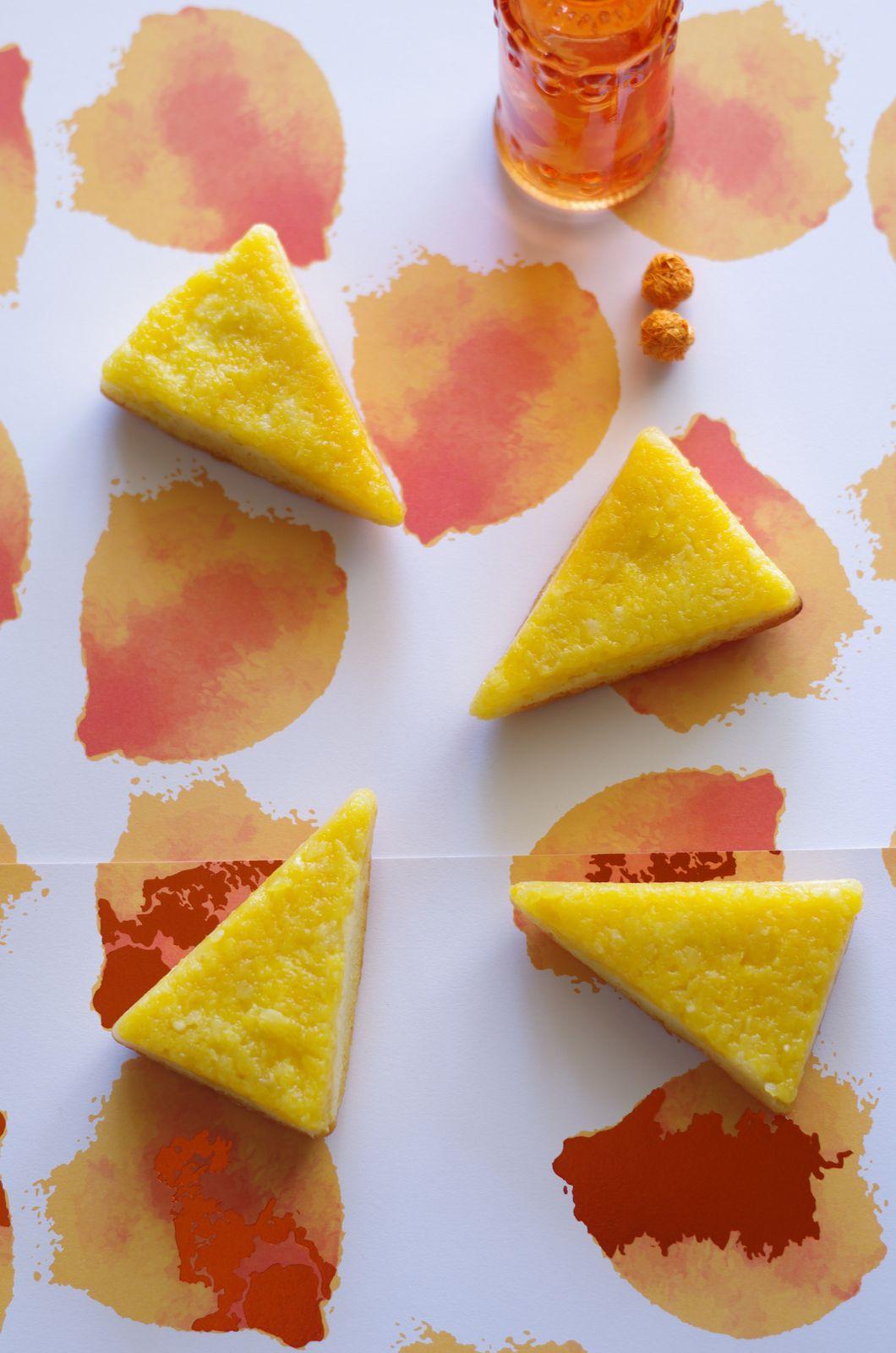 Gâteaux renversés ananas/mangue