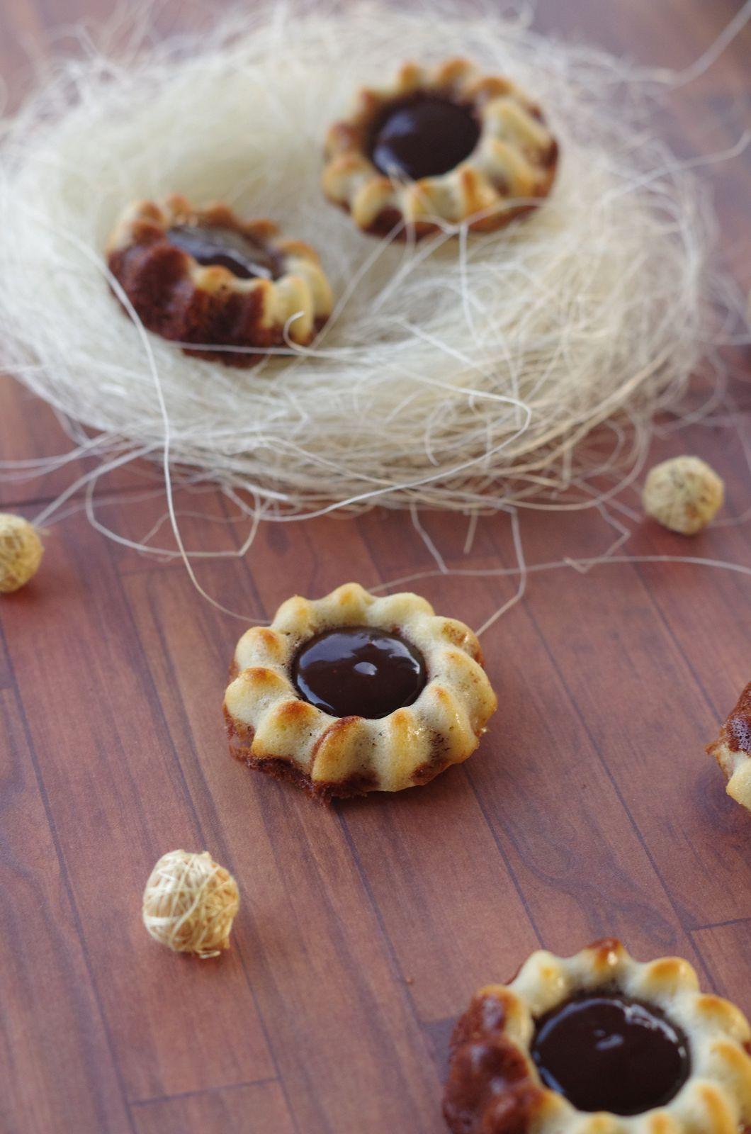 Marbrés chocolat et philadelphia