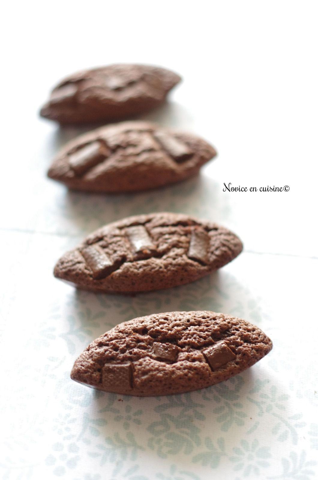Petits gâteaux chocolat au beurre salé