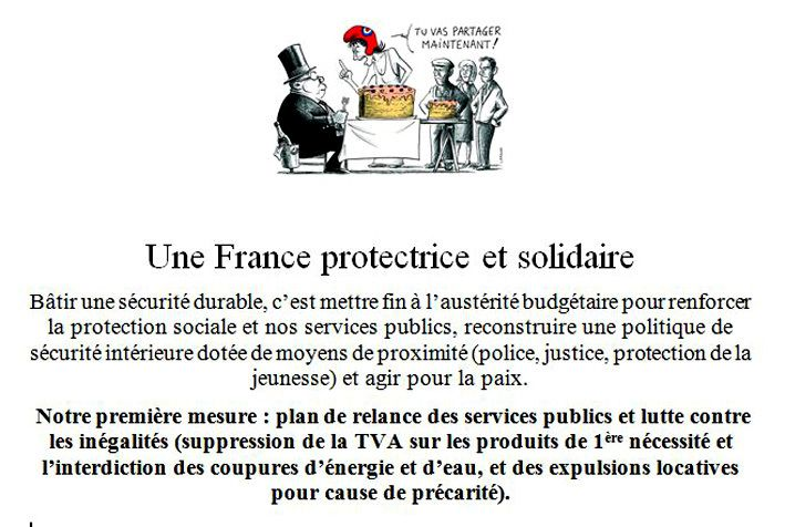 Construisons la France en commun. Protection sociale