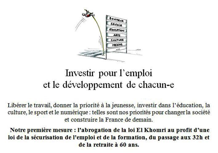 Construisons la France en commun. Investir pour l'Humain