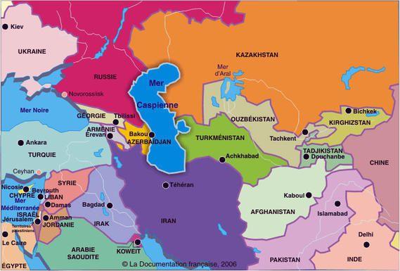 Mer Caspienne : la Russie, l'Iran et trois républiques ex-soviétiques signent un accord historique