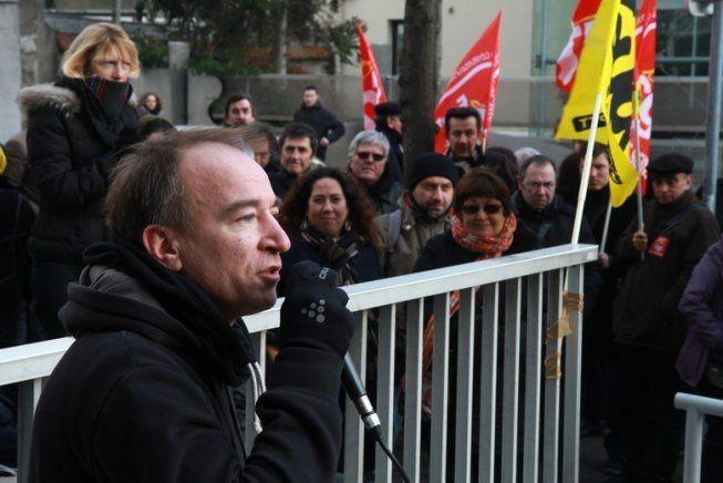 Yann Le Merrer, postier et syndicaliste Sud PTT