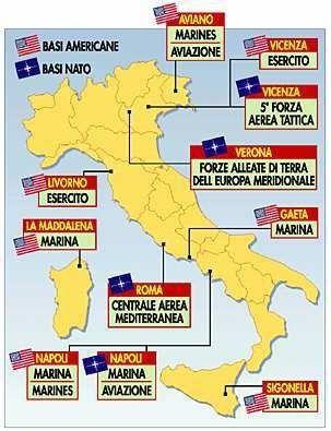 Washington fait payer cash le coût des troupes US par les pays de l'Otan qui les hébergent : le cas italien