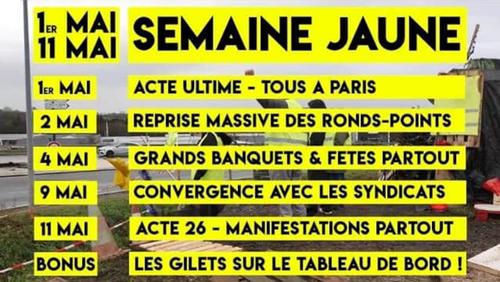 Après l'acte XXIV des gilets jaunes et la conférence de presse de Macron, où en est-on ?