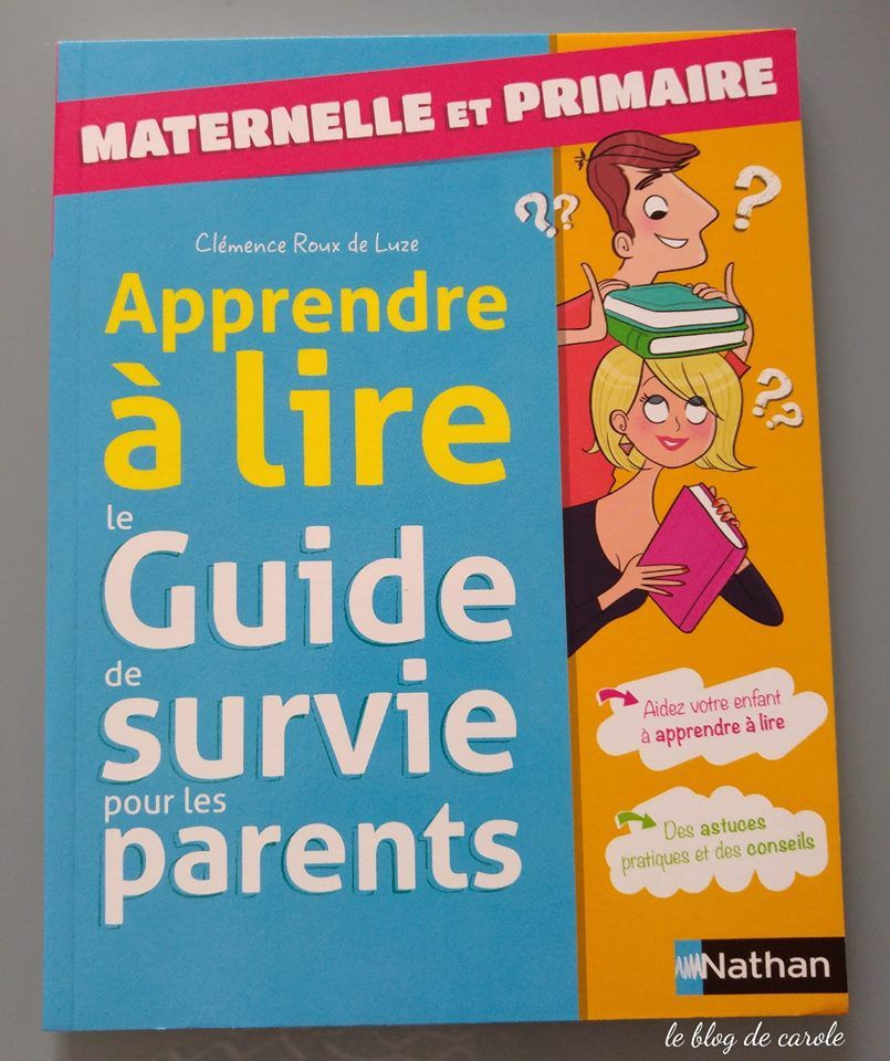 """extraits Le guide de survie pour les parents """"maternelle et primaire"""""""