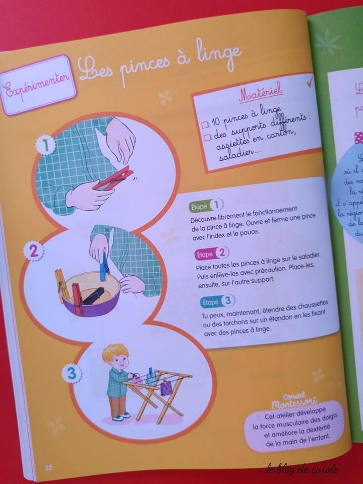 extraits Mon année Montessori Moyenne section de Hachette éducation