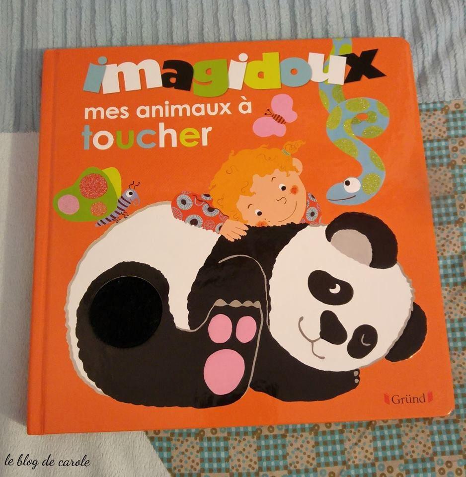 Mes animaux à toucher Imagidoux des Editions Gründ