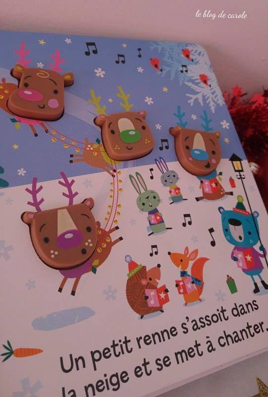 {concours clos} 5 petits rennes et C'est quand Noël ? - Editions Kimane