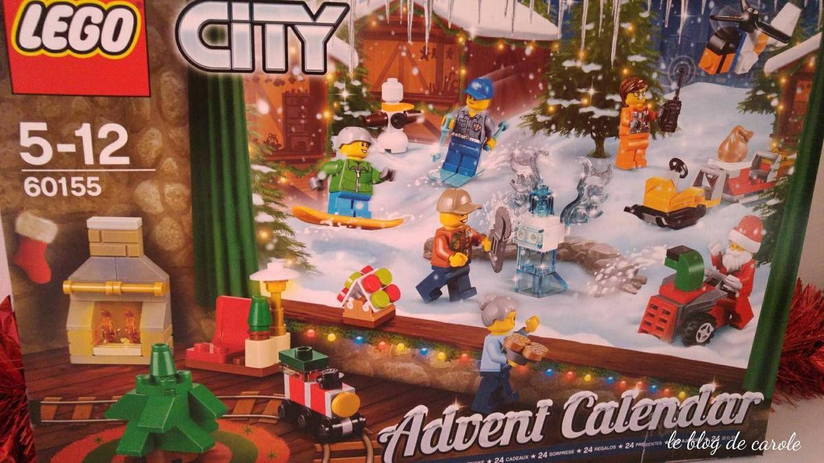 """Calendrier de l'avent """"Lego city 60155"""""""