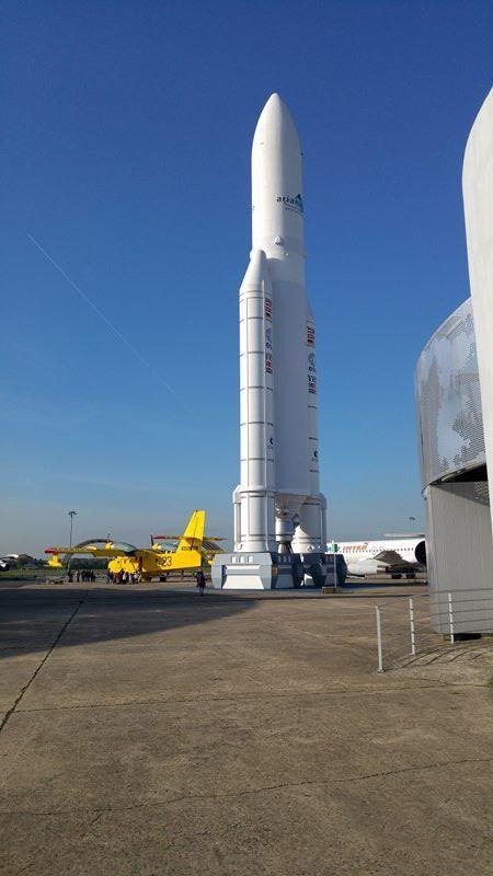Visite du musée de l'air et de l'espace au Bourget