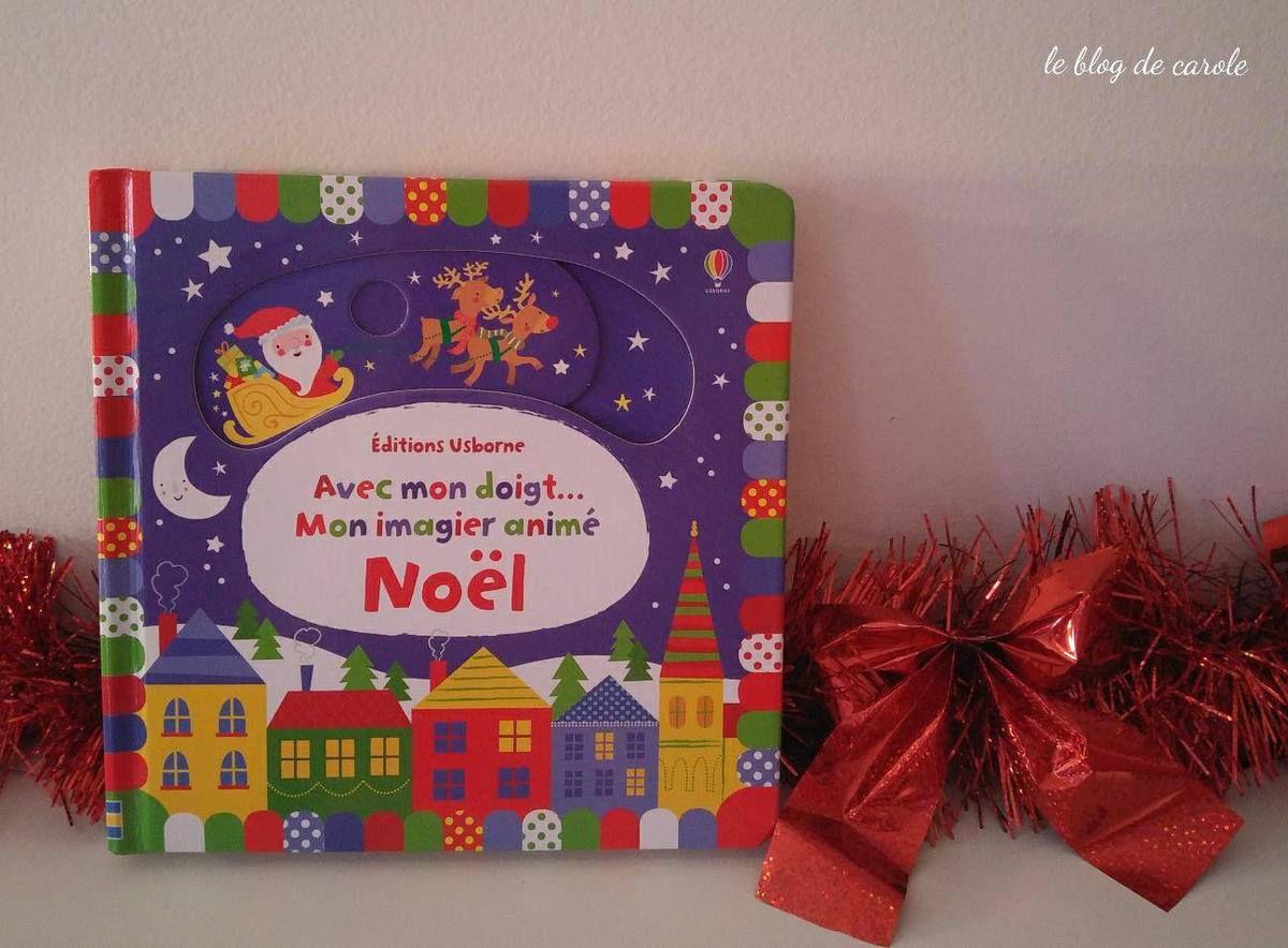 Livres imagiers de Noël pour petits