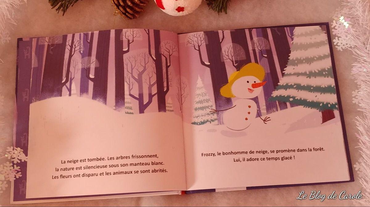 Le merveilleux Noël de Frozzy - Editions Langue au chat