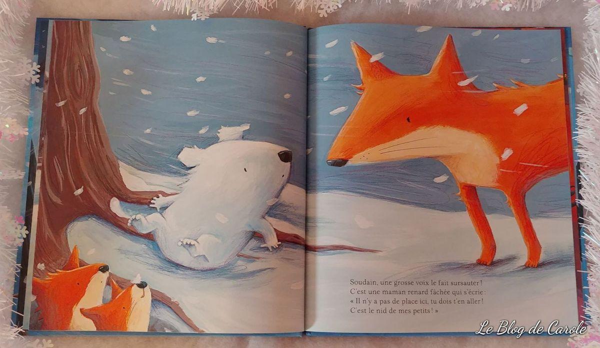 Le petit ours des neiges - Editions Kimane