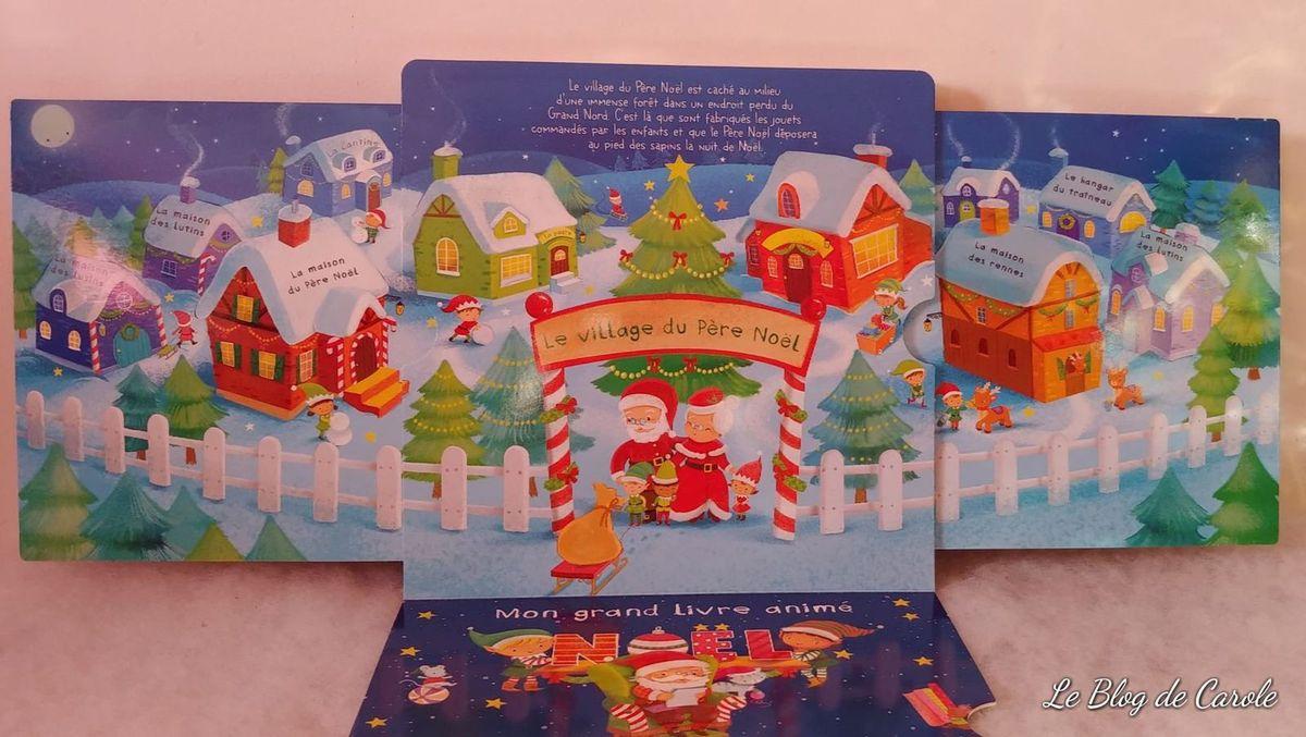 Mon grand livre animé de Noël - Editions fleurus