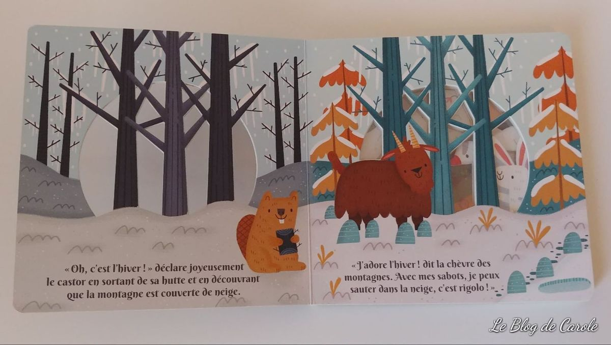 Un fabuleux hiver - Editions Kimane