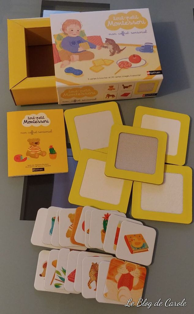 """Coffret """"tout-petit Montessori"""" mon coffret sensoriel - Edition Nathan"""