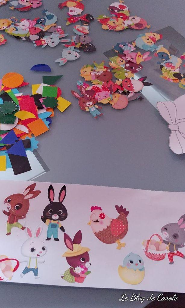 Création cartes surprises de Pâques