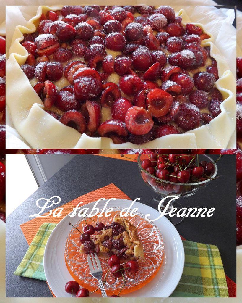 Rabattre un peu la pâte sur les fruits avant d'enfourner la tarte !