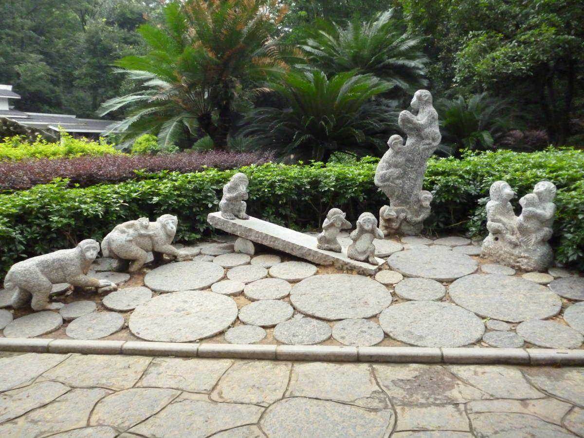 Parc à Guilin, Chine