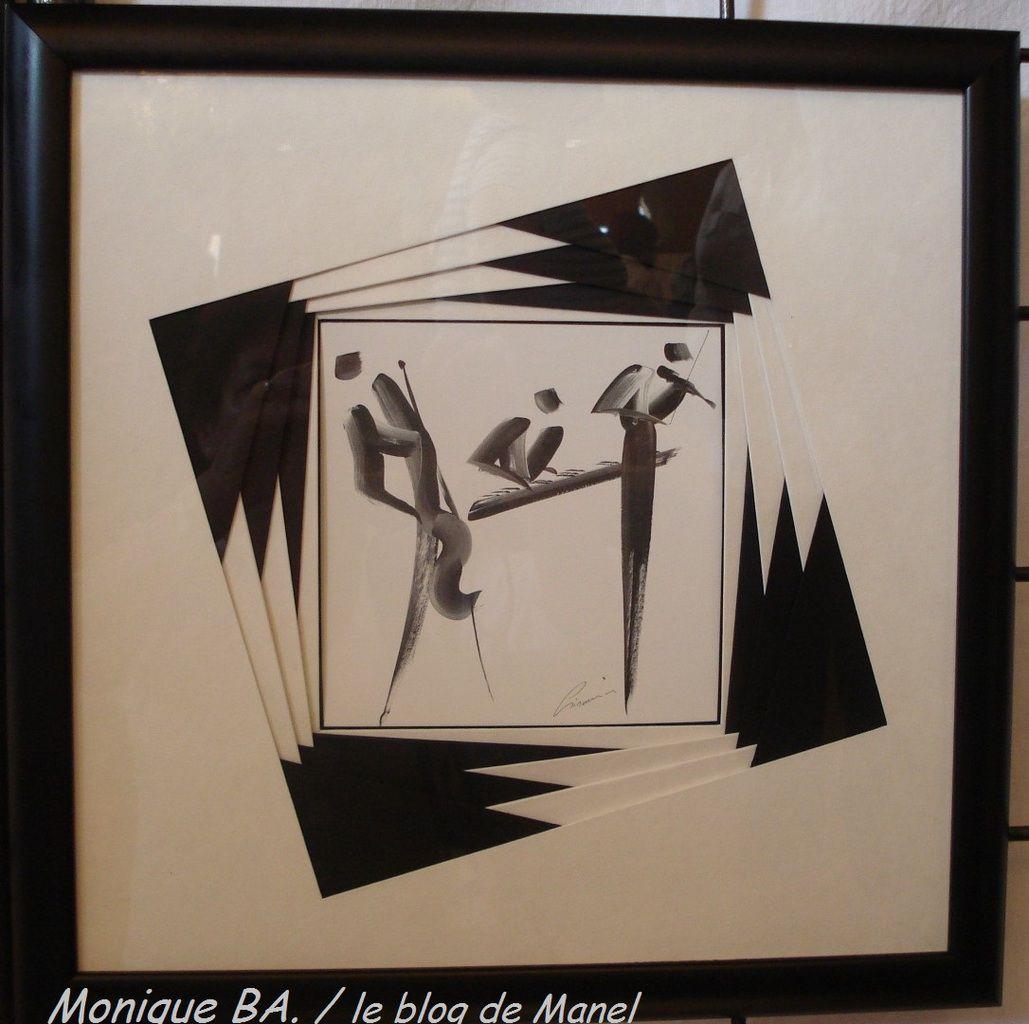 MONIQUE BA. /ELEVE DE MANEL / TRIANGLE SFOUS