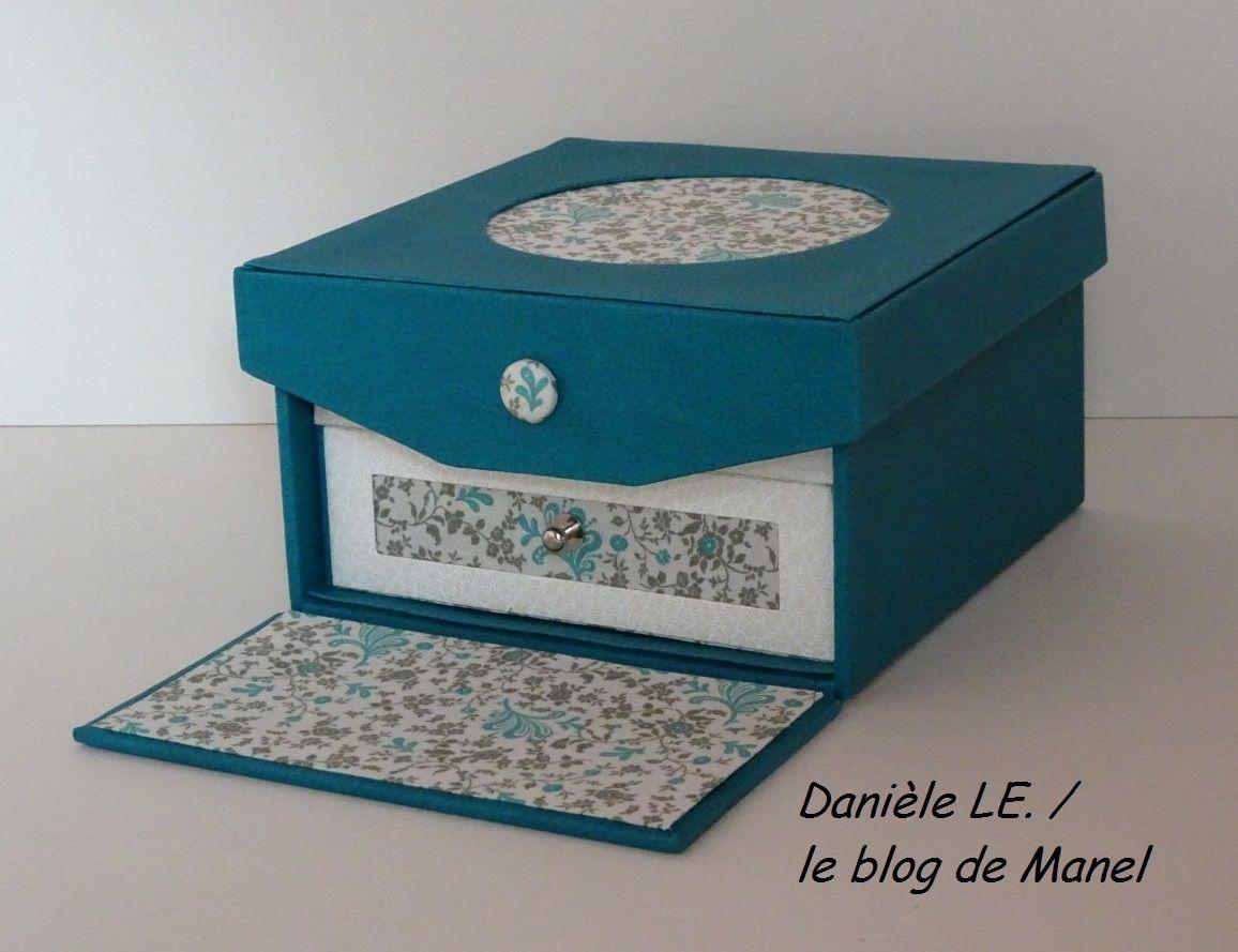 DANIELE LE./ELEVE DE MANEL / BOITE A BIJOUX A RABAT