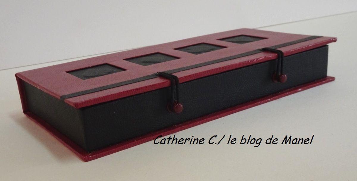 CATHERINE C/ ELEVE DE MANEL / BOITE A JEU DE CARTES