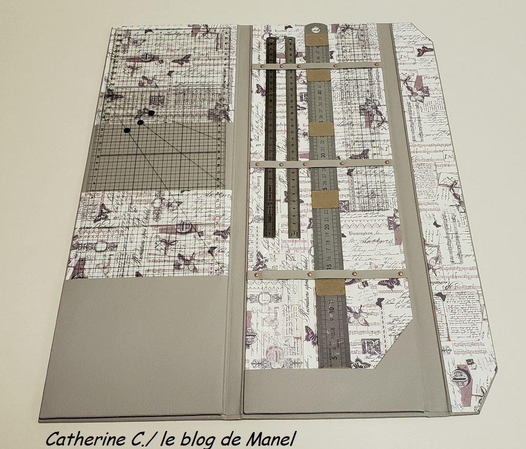 CATHERINE C./ ELEVE DE MANEL /ETUI A REGLES