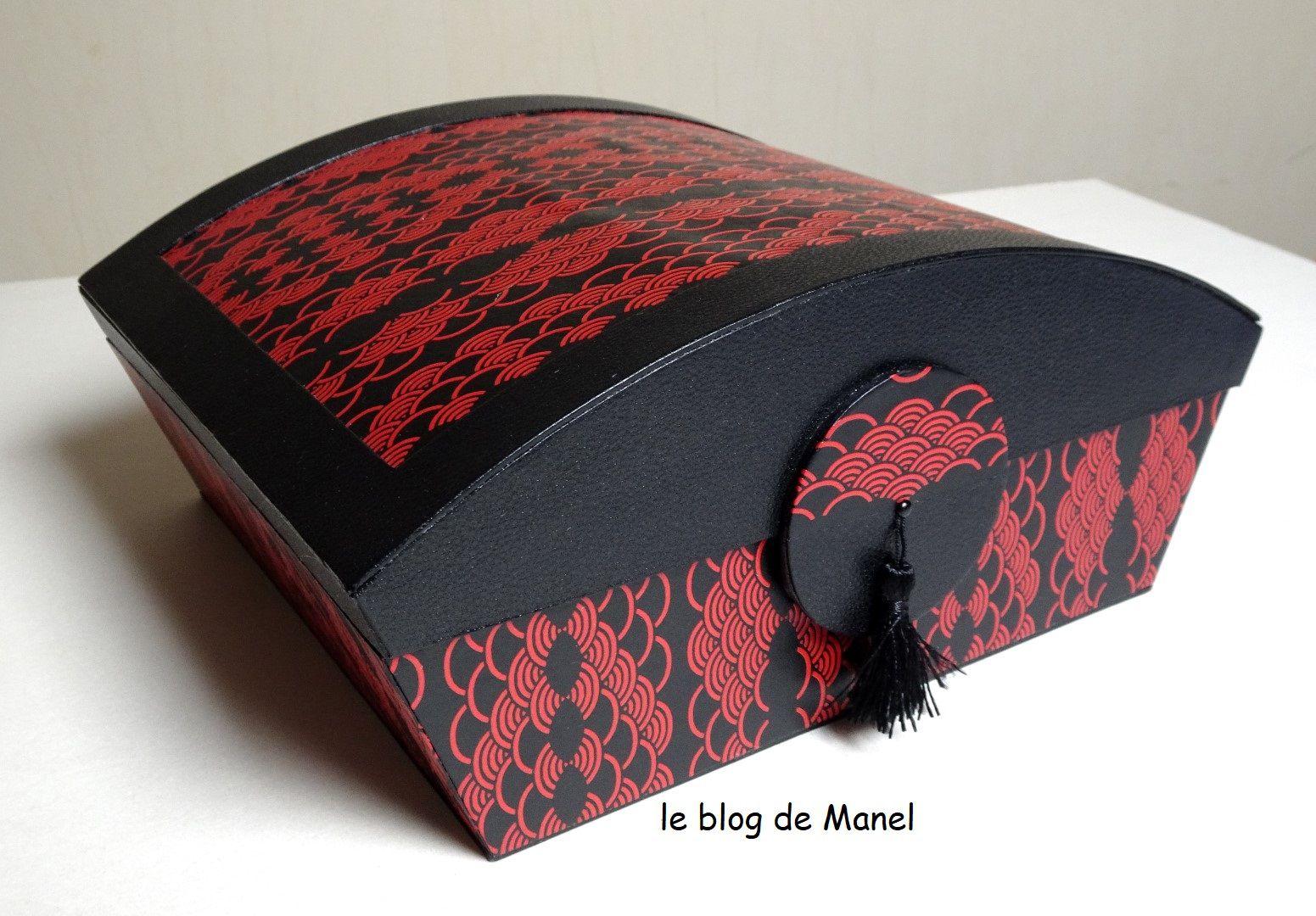 LES CARTONNAGES DE MANEL / BOITE SOUVENIRS