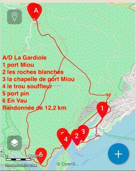 2019-03-14 Port Miou-port Pin-en Vau depuis la Gardiole