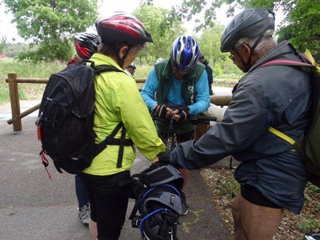 2019-04-24 Sortie Vélo sur la Véloroute du Calavon