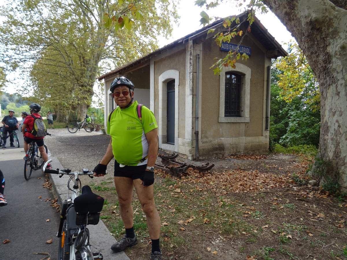 2019-10-14 Sortie Vélo sur la Via Venaissia