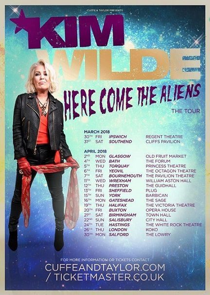 Kim Wilde - Here Come The Aliens - Album et Tournée