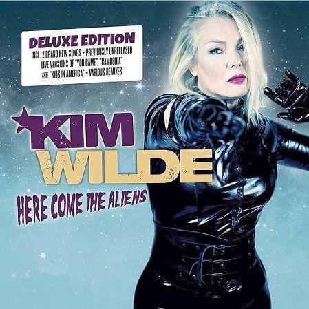 Kim Wilde nous offre 2 nouveaux titres, 3 versions live et des remixes