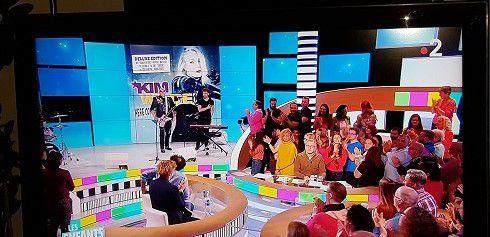 Les enfants de la télé - Kim Wilde éblouissante et sexy