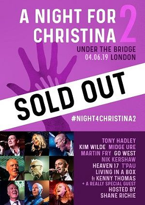 A Night For Christina - Kim Wilde, Tony Hadley, Midge Ure complet !