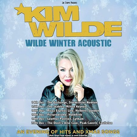 Kim Wilde Winter Acoustic Tour en Angleterre
