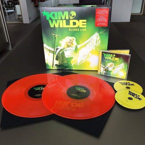 Kim Wilde Aliens Live dans quelques jours !