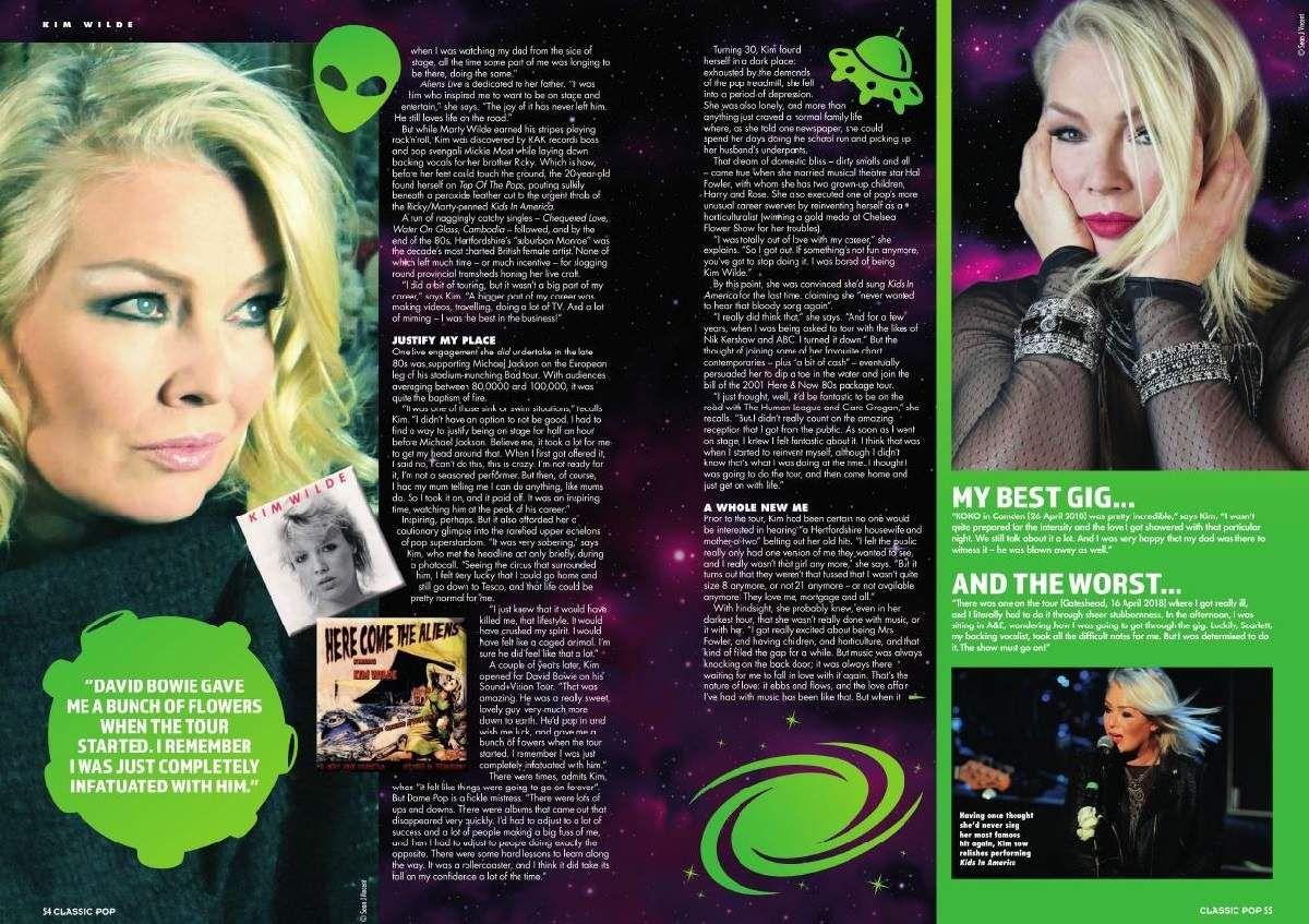 Classic Pop Magazine N° 56 - Kim Wilde - Duran Duran - Gary Numan