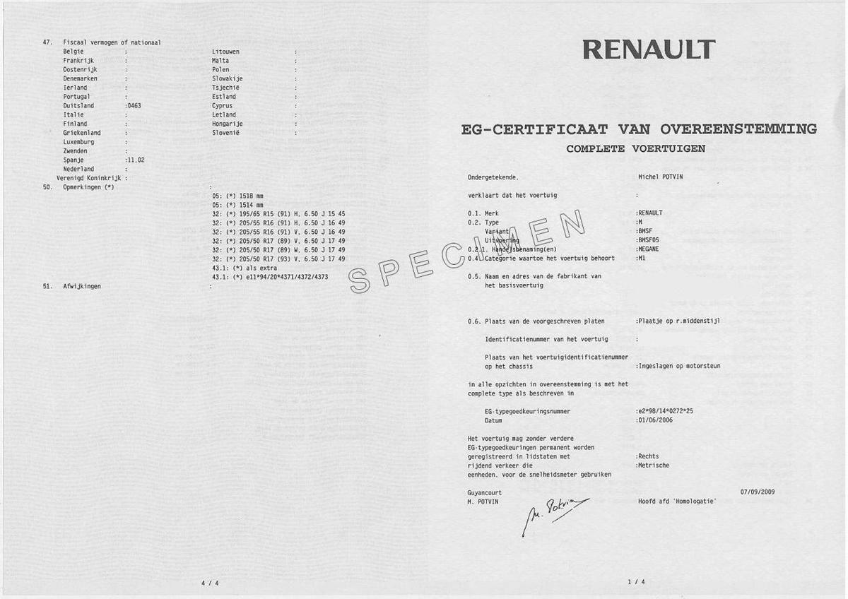 Quel est l'usage du certificat de conformité etcomment obtenir le certificat de conformité?