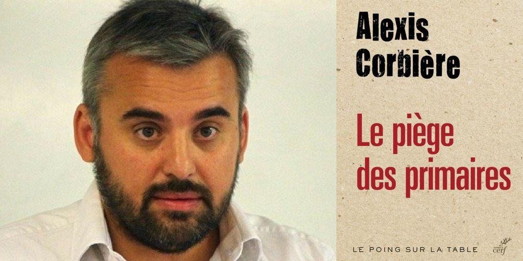 """Alexis Corbière, auteur du livre """"Le piège des primaires"""" aux éditions du Cerf."""