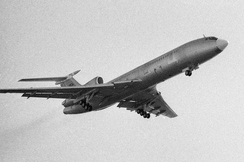 Tupolev 154 (source: Sputnik)