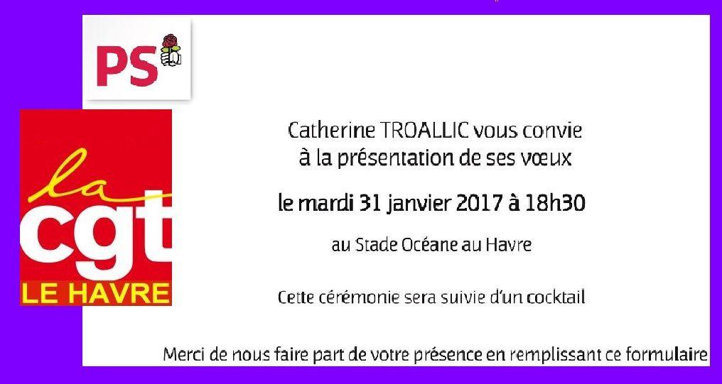 LE HAVRE (Seine-Maritime) Voilà pourquoi la CGT n'ira pas aux vœux de Madame la députée PS