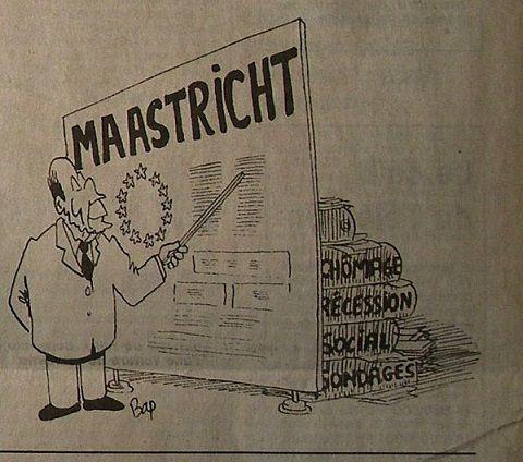 Il y a 25 ans, le Parti Communiste Français disait NON au traité de MAASTRICHT
